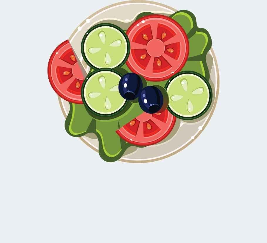 Cocina saludable menu